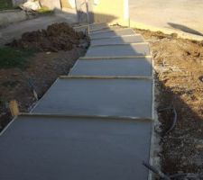 beton coule