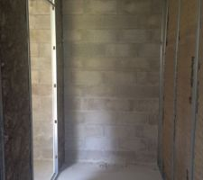 isolation placo salle de bain suite parentale