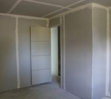 cloison chambre 4 12m2