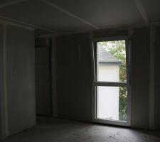 cloison chambre 2 14m2