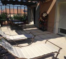 Rendu beton desactivé avec mobilier