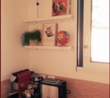 Cuisine terminée - peinture rigolons - meubles cuisine Coppin