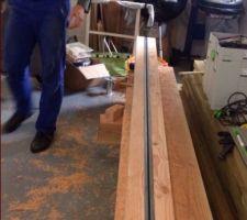 plots de douglas en 15cm avec insert du rail