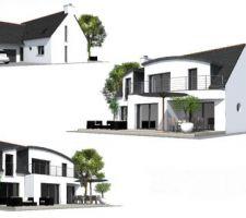 maison contemporaine a plounerin 22780