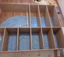 Aménagement de placard (notre future chambre)