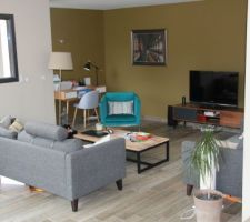 Petite touche déco du salon achat de divers meuble de chez maison du monde