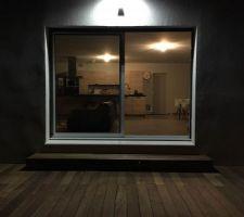 Résultat final, la terrasse est un peu poussiéreuse !