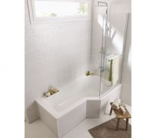 baignoire mixte