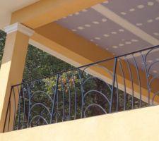 Rembarde terrasse à l'étage