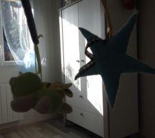 Chambre d'amis transformé en chambre de bébé ;)