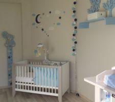 chambre d amis transforme en chambre de bebe