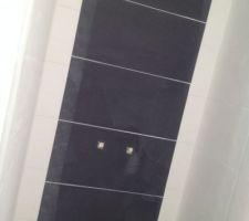 Bande verticale salle d'eau