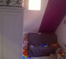 Réaménagement de la chambre de la petite