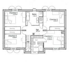 plan du 1er etage
