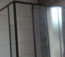 Vasque wc invités, manque crédence en mosaique