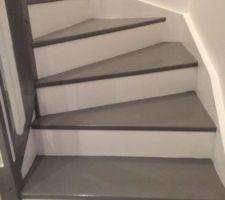 09 2016 peinture des escaliers