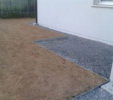Terrasse pour étendre le linge :-)