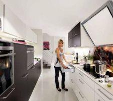 Modèle de cuisine choisi : Satin Glasart - Coloris : Terra mat soft