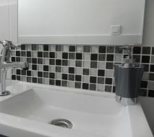 Lave main dans les toilettes du RDC