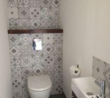 Toilette lave main
