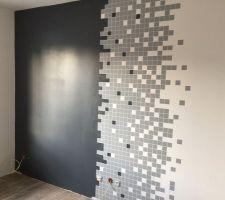 Mur PIXEL terminé