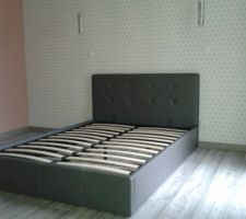 Le nouveau lit est monté