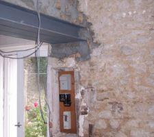 Ancrage hea mur facade