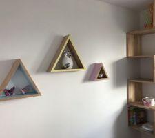 etagere maison pour decoration chambre d enfant