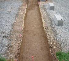 Fin des fouilles