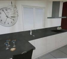 autre version du plan de la cuisine en plus reel
