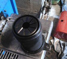 Bruleur RIELLO 40G3 Millenium - tête de combustion montée
