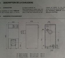 Chaudière SIME OPEN 35 Fioul - description