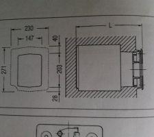 Chaudière SIME OPEN 35 Fioul - dimension du foyer principal