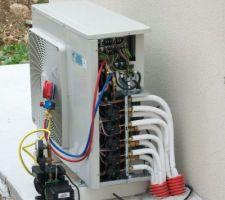 La mise en service de la climatisation.