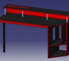 Voici une vue 3D de mon futur bureau