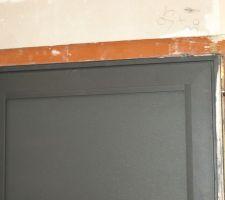 27 aout : réparation malfaçon porte d'entrée