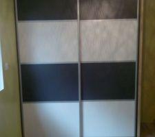 Version bandeaux pour le placard d'une autre chambre