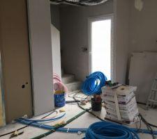 Début travaux de plomberie