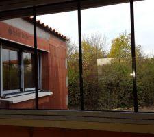 baie fixe patio style atelier