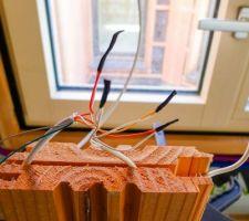 Cablage des capteurs d'ouverture