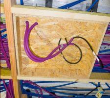 fabrication des caissons pour les enceintes encastrees