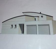 maison comtemporaine toiture zinc 22