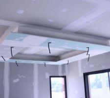 Retombée de plafond