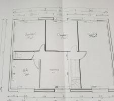 voici les plans de l etage