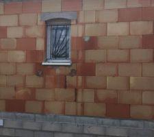 Grille soleil posées fenêtre salle de bain