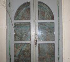 Cabane : fenêtre