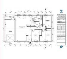 voici le plan interieur de notre future maison qu en pensez vous