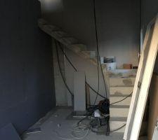 l escalier interieur