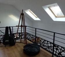 Rambarde mezzanine