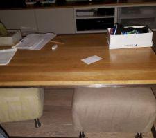 Usage classique table basse